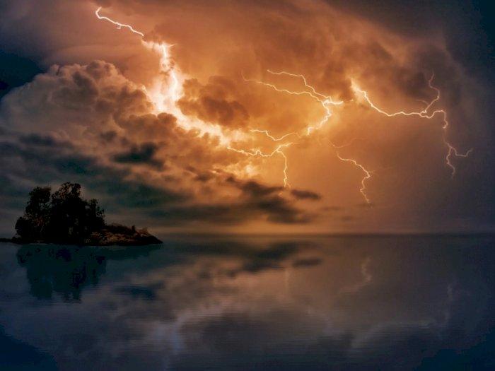 BMKG: Sejumlah Wilayah Alami Hujan Petir Hari Ini