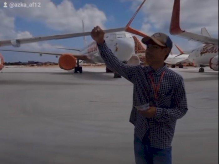 Luar Biasa, Pria Ini Jadi Kenek Pesawat: Dua Lagi Jalan!