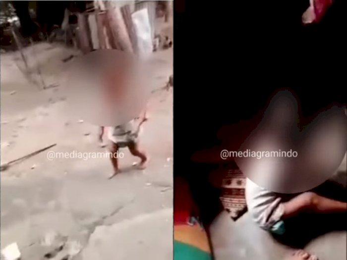 Viral Video Bocah 2 Tahun di Labura Diduga Dipaksa Ayahnya Merokok, Polisi Turun Tangan