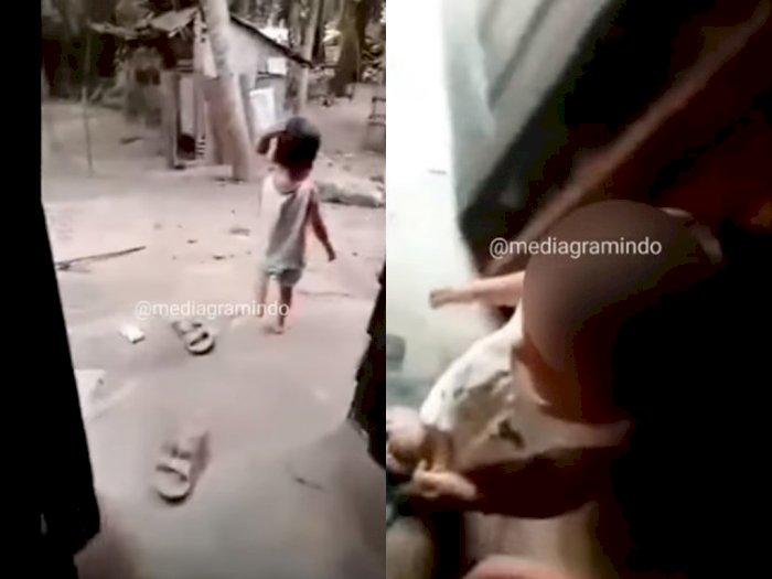 Astaga! Bocah 2 Tahun di Labura Diduga Dipaksa Ayahnya Merokok, Ancam Istri Minta Rujuk