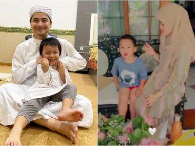 Alvin Faiz Pamer Momen Manis Henny Rahman Suapi Anaknya, Akrab dan Saling Tatapan