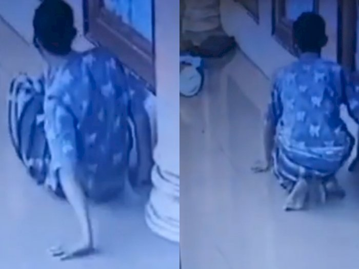 Astaga, Pria Ini Pura-pura Pincang Demi Mencuri Tas di Masjid