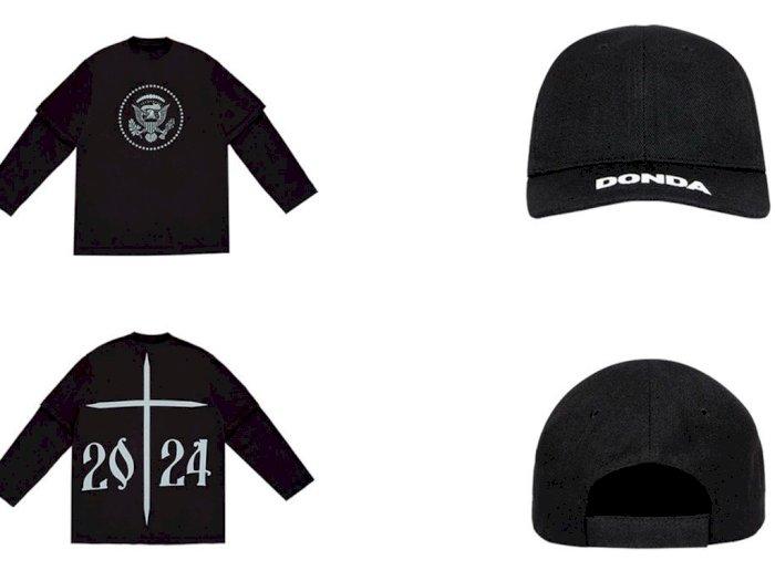 Rayakan Perilisan Album 'Donda', Kanye West Gandeng  Balenciaga Rilis Merchandise 'Donda'