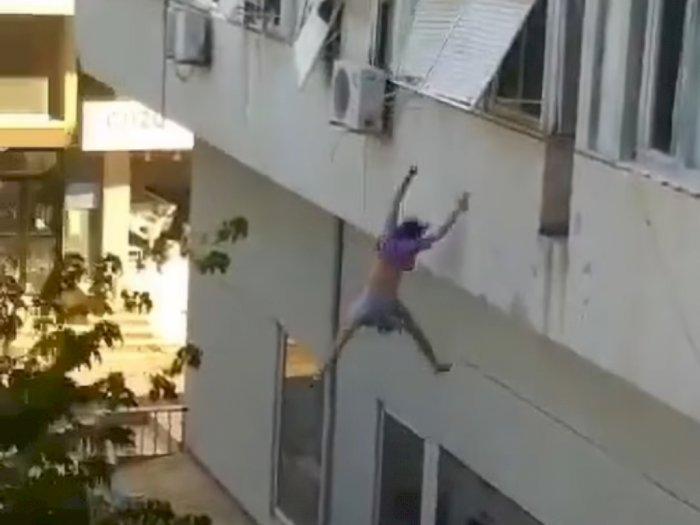 Gadis 19 Tahun Ini Nekat Melompat dari Gedung Setinggi 9 Meter Agar Selamat dari Penculik