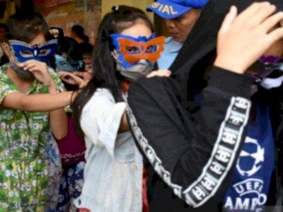 Polisi Gerebek Praktik Prostitusi Online Anak di Bawah Umur di Jakut