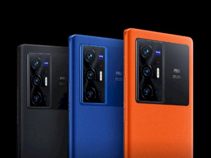 Vivo X70 Pro+ Resmi Diumumkan, Smartphone Flagship Hasil Kerja Sama dengan ZEISS