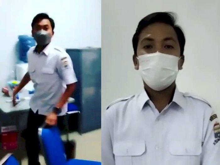 Honorer Dukcapil Palembang Arogan Saat Ditagih e-KTP, Eh Lemas Minta Maaf Usai Viral