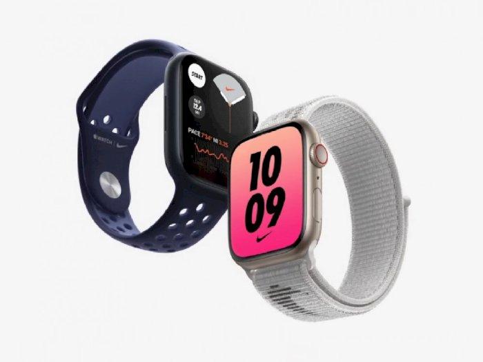 Apple Watch Series 7 Hadir dengan Layar Lebih Besar Hingga Sertifikasi IP6X!
