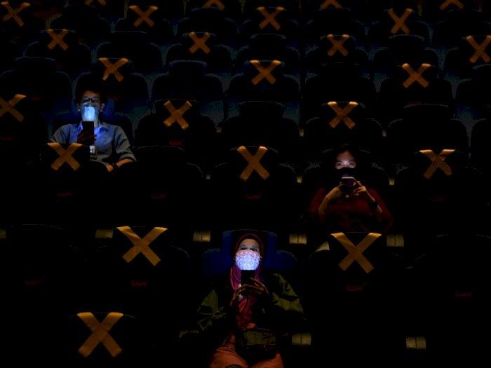 FOTO: Bioskop di Depok dan Jakarta Kembali Beroperasi
