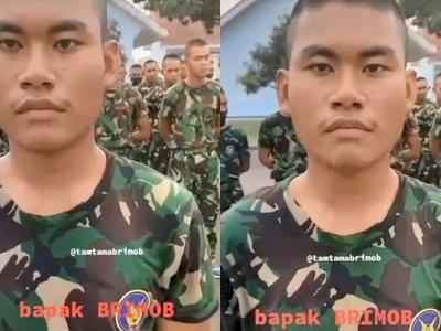 Viral Anggota TNI Dipanggil Pratu, Padahal Pangkatnya  Masih Prada