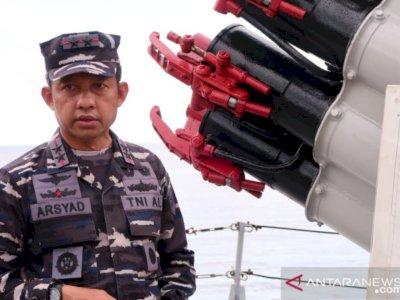 Patroli di Laut Natuna Utara, TNI AL Tidak Temukan Ribuan Kapal Asing