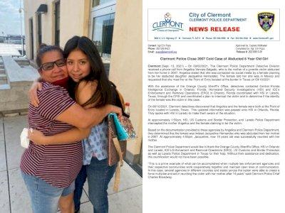 Wanita Ini Bersatu Kembali dengan Putrinya yang Diculik 14 Tahun Lalu, Kisahnya Bikin Haru