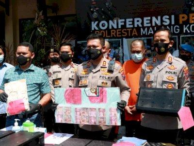Kacau! 2 Pria di Malang Ini Nekat Bobol Mesin ATM Berulang Kali Berujung Diciduk