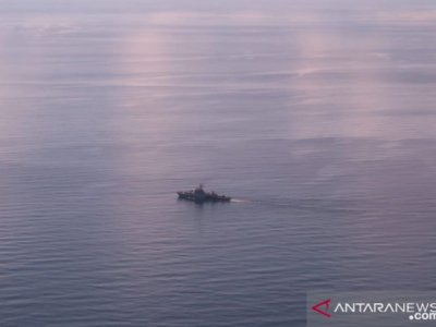Panglima Koarmada I TNI AL Pastikan KRI  Selalu Bersiaga di Laut Natuna
