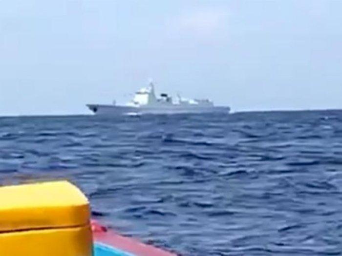 Viral Kapal Perang China di Laut Natuna, Fadli Zon: China Punya Maksud Jahat