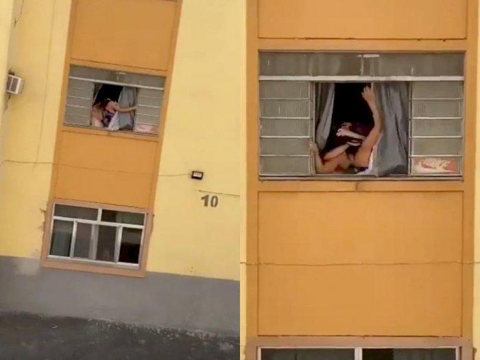 Tak Tahan Disiksa, Wanita Hamil Ini Mencoba Melarikan Diri dengan Melompat dari Gedung