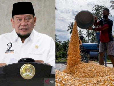 Ketua DPD RI Kritik Rencana Impor untuk Mengatasi Tingginya Harga Jagung
