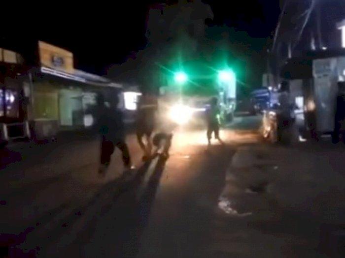 Video Detik-detik Remaja Terlindas usai Cegat Truk Demi Konten, Jangan Ditiru!