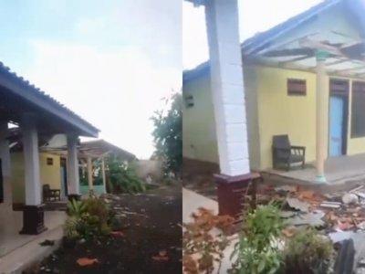 Geger! Puting Beliung Terjang Kawasan Gambiran Banyuwangi, 35 Rumah Warga Rusak