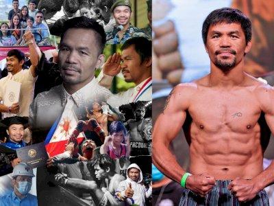 Legenda Tinju Manny Pacquiao akan Maju sebagai Capres Filipina, Ancam Para Pejabat Korup