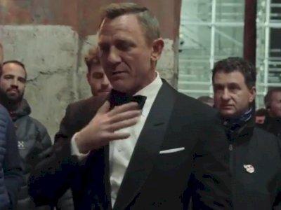 Video Pamitan Daniel Craig dari James Bond Viral Lagi, Pidato Perpisahan yang Emosional