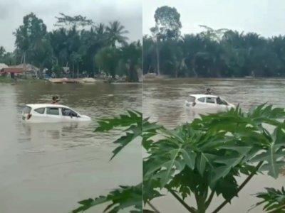 Mobil Tenggelam saat Menyeberang di Sungai Konawe Sultra, Tiga Orang Meninggal Dunia
