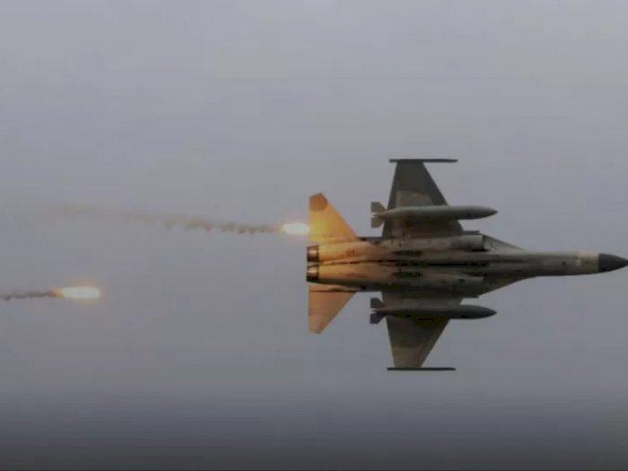 10 Pesawat Tempur China Memasuki Zona Pertahanan Udara, Sistem Rudal Taiwan Mengawasi
