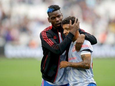Dilecehkan Suporter West Ham United, Paul Pogba Balas dengan Senyum Lebar