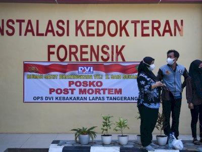 Ngeri! Hasil Visum Korban Kebakaran Lapas Tangerang: Ada Jelaga di Toraks dan CO di Darah