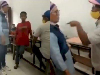 Ibu Ini Bela Bocah Penjual Kerupuk yang Dituduh Larikan Uang Pria di Medan, Netizen Salut