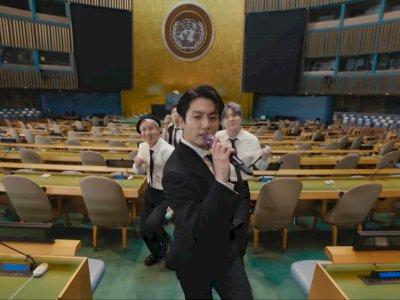 BTS Beri Penampilan 'Permission to Dance' di PBB Setelah Menyampaikan Pidato Diplomasi