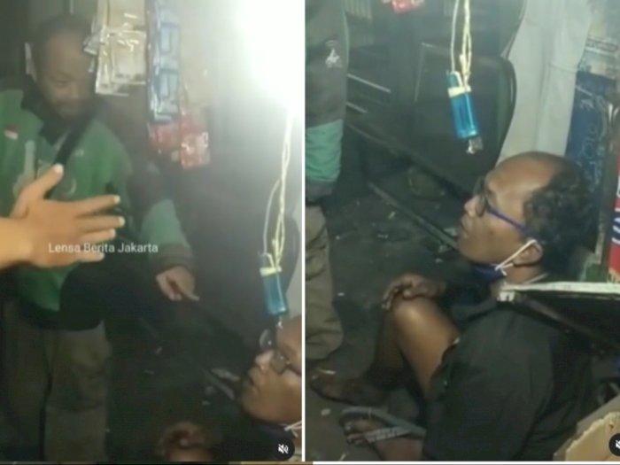 Penebar Ranjau Paku di Gatot Subroto Jakarta Diamankan Ojol Sebelum Digiring Polisi
