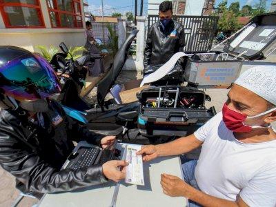 FOTO: Peluncuran Sepeda Motor Sijempol Jemput pajak Kendaraan