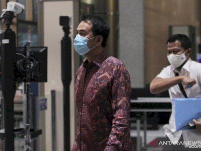 Hasil Swab Antigen Negatif Corona, Azis Syamsuddin Langsung Digiring ke KPK