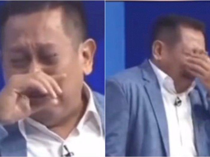 Viral Video Tukul Arwana Nangis Sesenggukan Cerita Perjuangan Hidup, Bikin Netizen Mewek