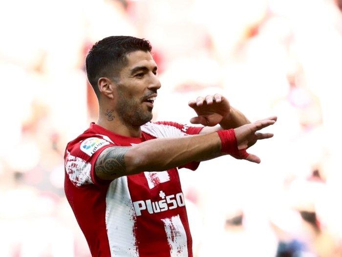 Rekor, Luis Suarez Jadi Striker yang Cetak Gol di Tiap Menit Pertandingan