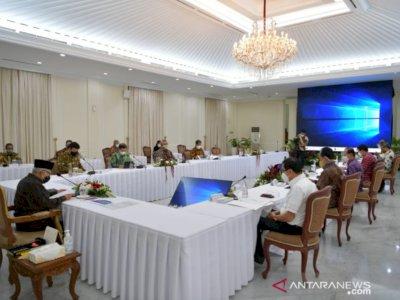 Wapres Ma'ruf Amin Berharap Revisi UU ASN Tidak Melemahkan Reformasi Birokrasi