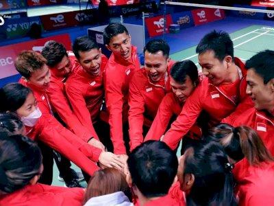 Mantap! Indonesia Babat Habis Rusia 5-0 di Laga Perdana Sudirman Cup
