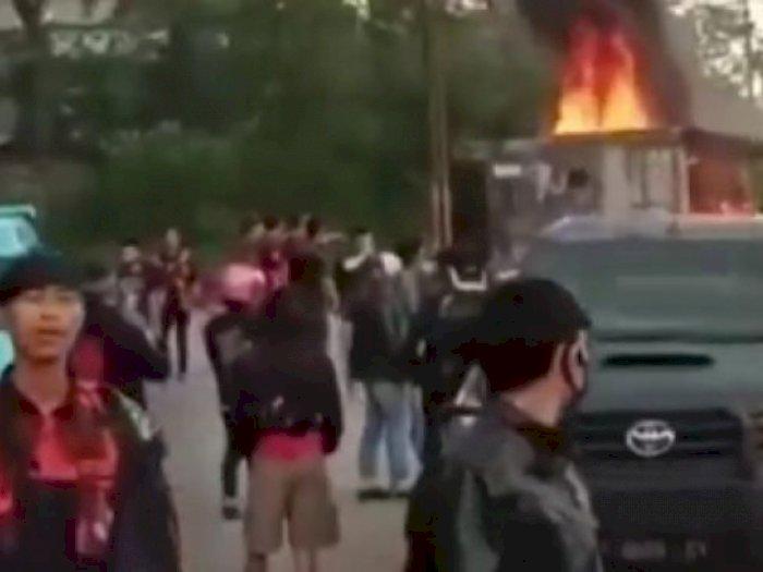 Fakta 2 Ormas Bentrok di Batas Cianjur-Sukabumi, Markas Dibakar, 1 Orang Tewas Mengenaskan