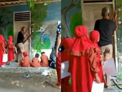 Viral, Aksi Pemilik Lahan Segel PAUD di Kragilan Serang, Puluhan Anak Tak Jadi Bersekolah