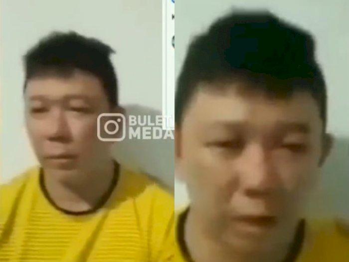 Diduga Nistakan Agama Islam, Pria Ini Ciut Dilabrak Ormas Lalu Ditangkap Polisi di Medan