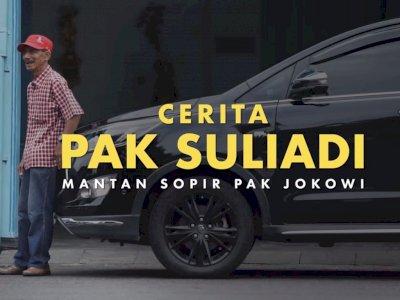 Kisah Pak Suliadi, Mantan Sopir Presiden Jokowi, Ungkap Kebiasan Jokowi