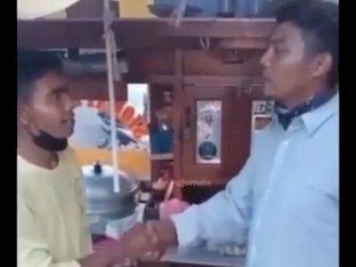 Kasus Ormas Palak Tukang Siomay Berakhir Damai, Momen Pelaku Peluk Korban Jadi Sorotan