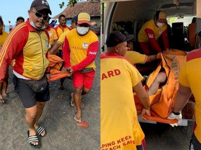Seorang Nelayan Ditemukan Tewas Terapung di Pantai Sogsogan Badung Usai Hilang 2 Hari