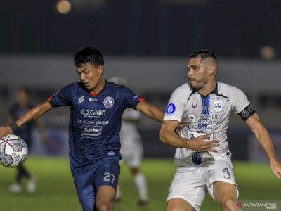 Belum Raih Kemenangan di Liga 1, Arema FC Harus Pertajam Penyelesaian Akhir