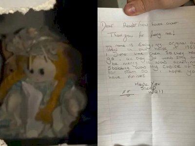 Serem! Pria Ini Temukan Boneka & Surat Mengerikan  di Ruang Bawah Tangga Rumah Barunya