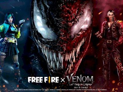 Kolaborasi Free Fire dan Venom, Satu Program yang Hadirkan Dua Pesan Tersembunyi Sekaligus
