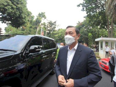 FOTO: Luhut Pandjaitan Klarifikasi ke Polda Metro Jaya