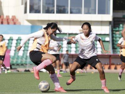 Penentu Langkah ke Piala Asia 2022.,Timnas Wanita Indonesia Optimistis Kalahkan Singapura
