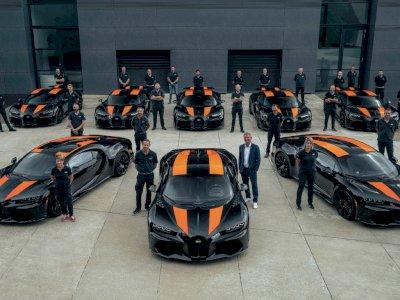 Bugatti Telah Produksi 8 Unit Pertama dari Chiron Super Sport 300+, Siap Dikirim!